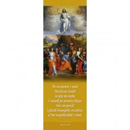 Pan Jezus został wzięty do nieba