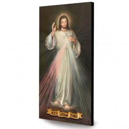 Ikona. Pan Jezus Miłosierny. Jezu ufam Tobie