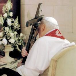 Jan Paweł II. Krzyż. Modlitwa