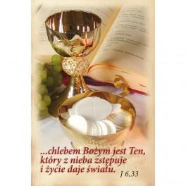 Chlebem Bożym jest Ten, który z nieba zstępuje